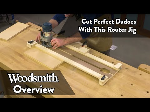Cut Perfect Dadoes of Any Size With This Router Jig