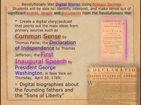 Revolutionary War History Through Podcasting and Web 2.0 Learning Experiences