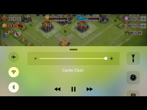 """How To Do The """"Airplane Mode"""" Cheat In Castle Clash Guild Wars Raiding"""