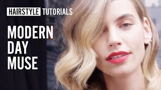 How to style modern day muse? by Siobhan Jones | L'Oréal Professionnel tutorials