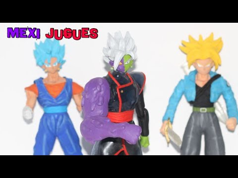 Zamasu Deforme Y Trunks Super Saiyan Ira - Figuras Custom Bootleg Mexicano 2018