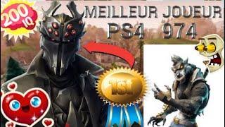 FORTNITE:MEILLEUR JOUEURS PS4 REUNIONNAIS 974 !!!!!!!!!?????????????