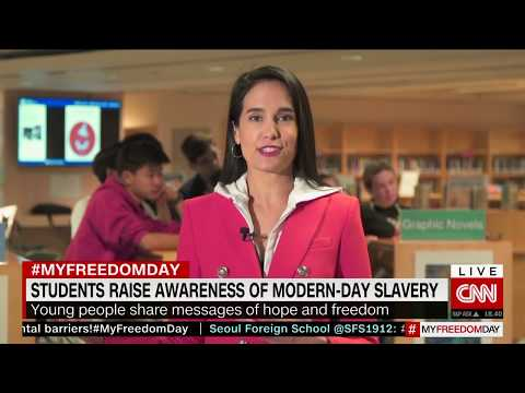 How to take action against modern-day slavery on My Freedom Day