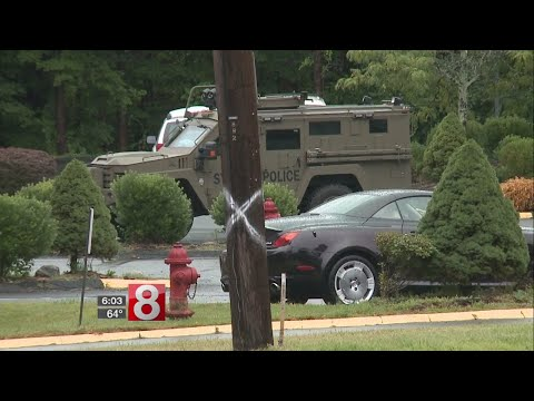 Police currently on scene of situation involving barricaded man in Southbury
