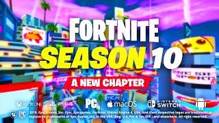 Welcome to Fortnite Season 10