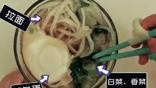 Foodie XiaoMan 超萌小吃貨~小蛮殿下的生日大餐...長壽麵 😬💖🍄🍜 #happpybirthday #eatingmachine  #food #小蛮 #xiaoman