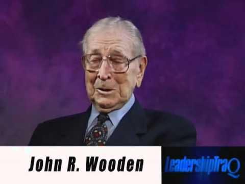 UCLA Legend John Wooden on Leadership (Part 3)