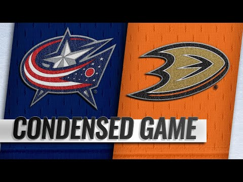 11/04/18 Condensed Game: Blue Jackets @ Ducks