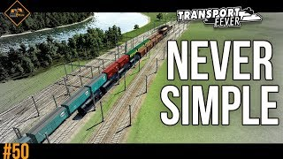 Inability to keep things simple | Hub building in Transport Fever #50