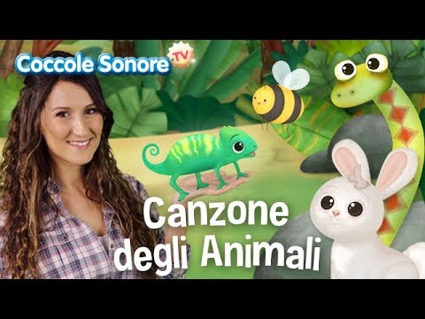 La canzone degli animali - Dance with Greta - Italian Songs for Children by Coccole Sonore