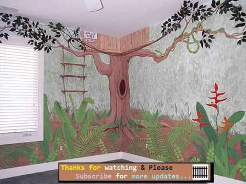 Kids Wall Murals wall murals for kids | murals collection - youtube