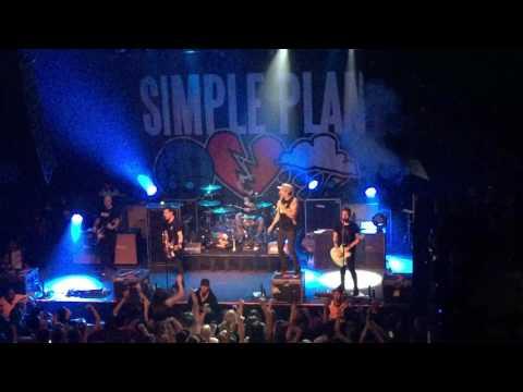 Shut up Simple Plan Concert 2017