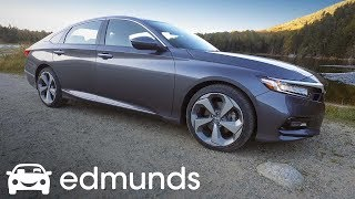 2018 Honda Accord Review | Test Drive | Edmunds