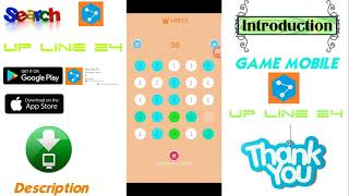 Up line 24,  puzzle game,  intellectual game, Challenge your patience, Hot new game mobile 2018