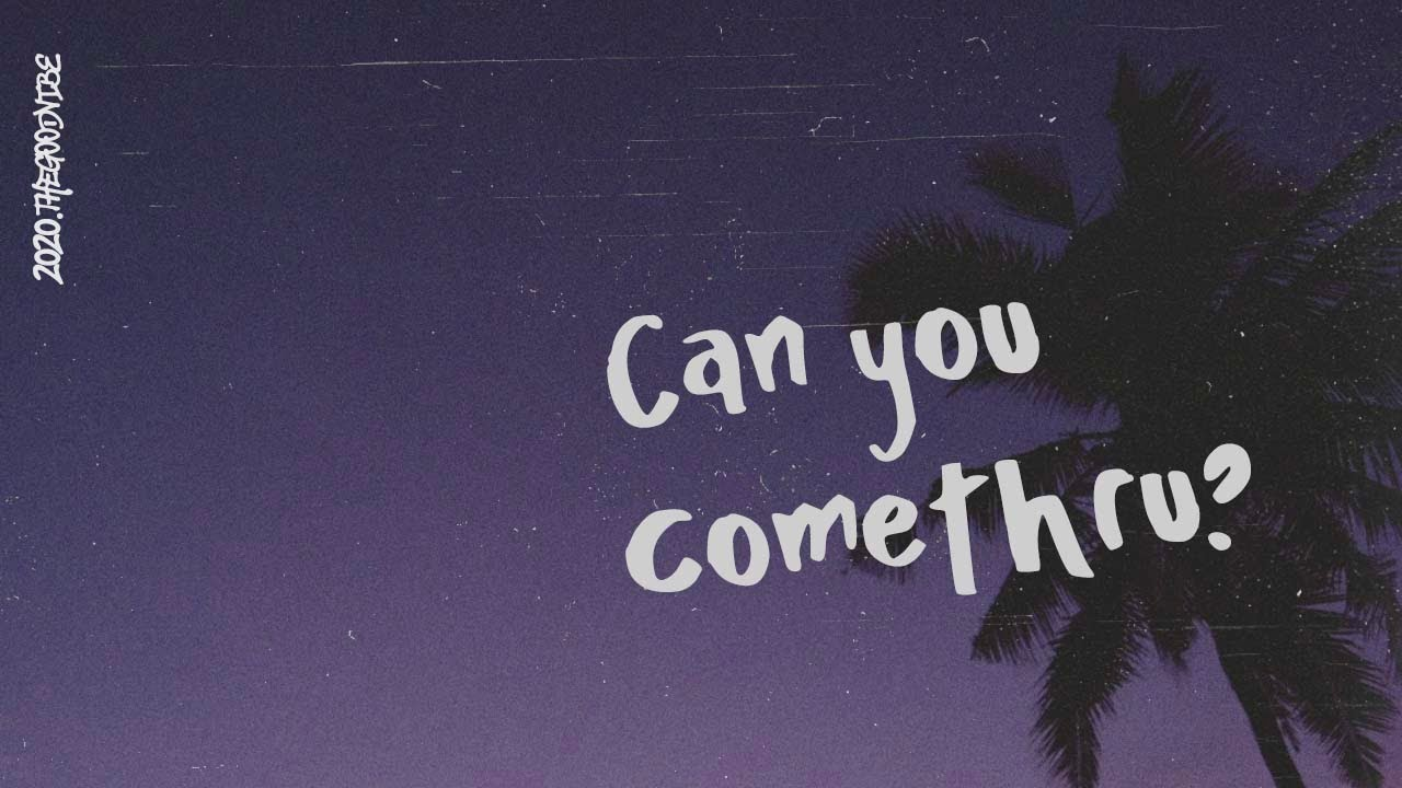 Jeremy Zucker Comethru Lyric Video