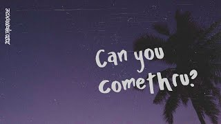 Gambar cover Jeremy Zucker - comethru (Lyric Video)
