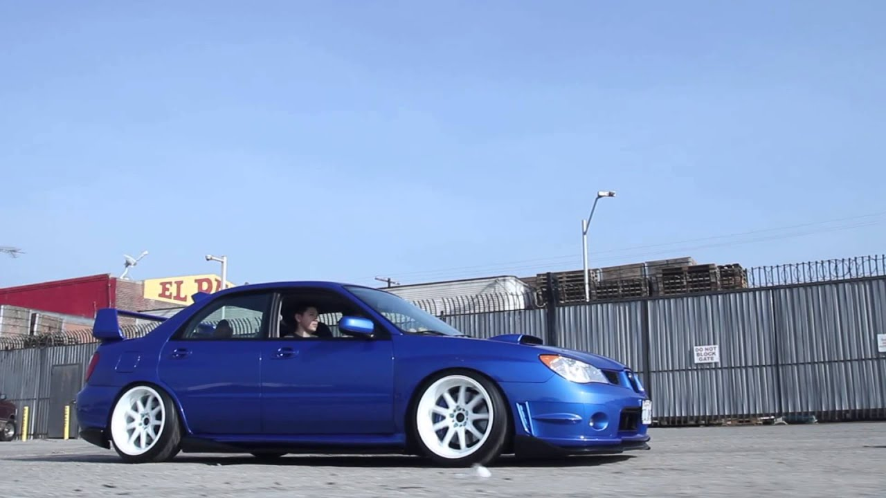 Subaru Wrx Custom >> Stance Stories: Zach Spusta's Subaru Impreza STI |ASVAFilms| - YouTube