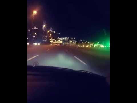 Baku Nights 2017 - Driving in Baku nights