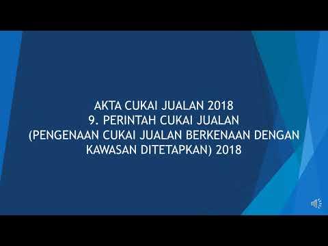 Malaysia SST 2018