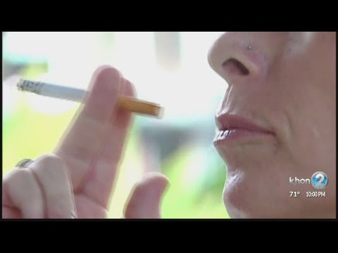 AJ - Hawaii Could Ban Cigarettes for Anyone Under 100 Years Old