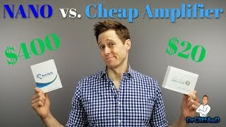 $400 Nano vs.  $20 Alibaba Comparison | High Tech Hearing Aid or Cheap Amplifier?
