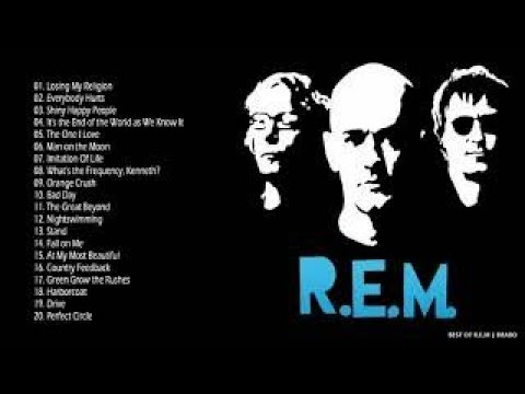 REM : Greatest Hits - Best of REM Full Album Collection [HD]