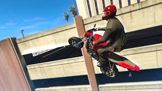 5 STUNTS IN 30 MINUTES CHALLENGE!  - (GTA 5 Stunts & Fails)