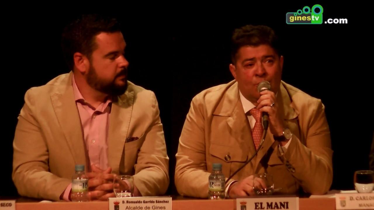 'El Mani' celebra sus 30 años en la música con la puesta de largo en Gines de su nuevo disco
