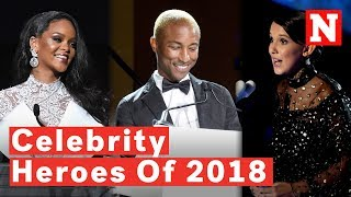 Celebrities Who Used Their Fame For Good In 2018