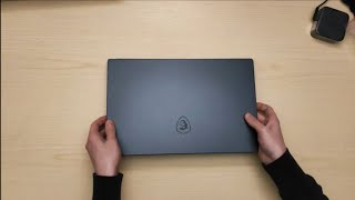 MSI PS63 Creator - Unboxing & First Benchmarks!
