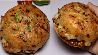 Pizza Burger By Recipes of the World