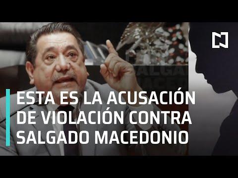 Testimonio de víctima de presunta violación sexual contra Félix Salgado Macedonio - En Punto
