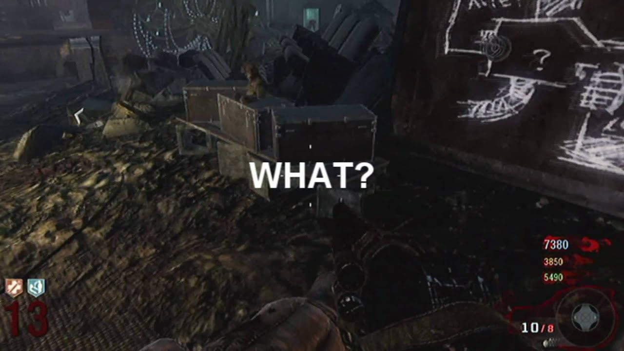 Black Ops Kino Der Toten Mystery Box Glitch Youtube