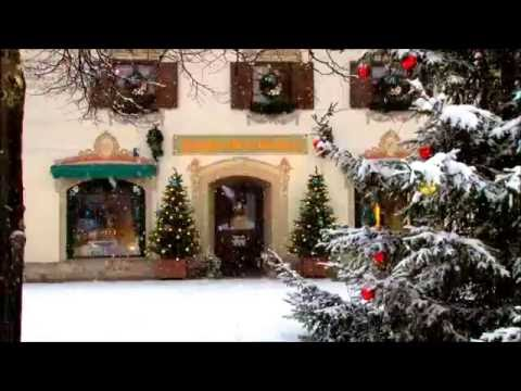 1 HOUR CHRISTMAS MUSIC + FALLING SNOW [SONGS, CAROLS]