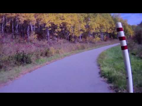Minnesota Mesabi Trail Bike Ride