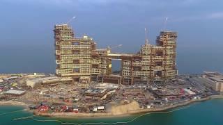 The Royal Atlantis Residences - December 2019 Drone Video