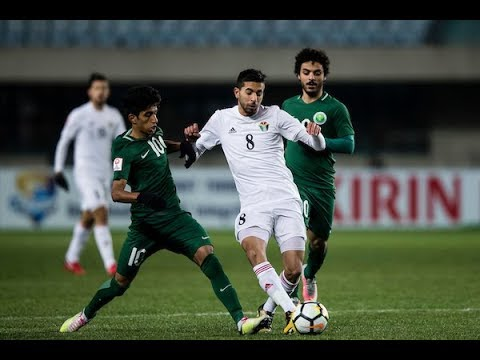 Video: U23 Jordan vs U23 Ảrập Xêút