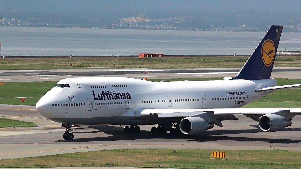 lufthansa boeing 747 400 takeoff kix rjbb youtube. Black Bedroom Furniture Sets. Home Design Ideas