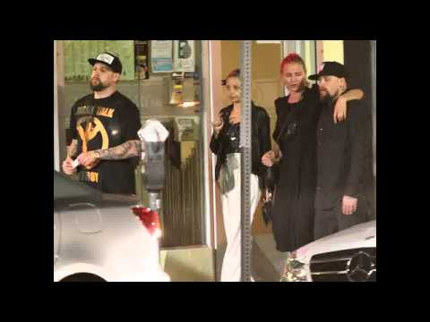 Cameron Diaz and Nicole Richie Enjoy Double Date with Benji, Joel Madden in Hollywood