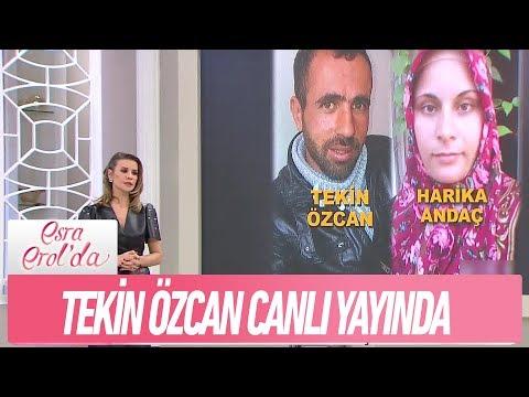 Tekin Özcan canlı yayında - Esra Erol'da 11 Şubat 2019