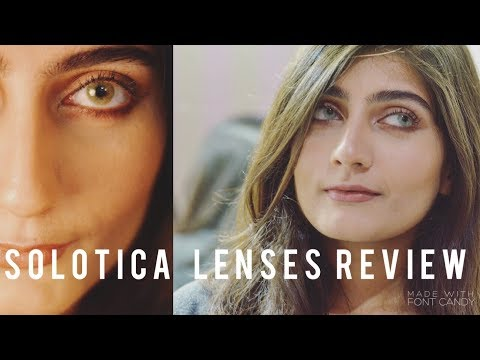 SOLOTICA LENSES  Hidrocor MEL/ QUARTZO Review and Comparison   Anushae Says