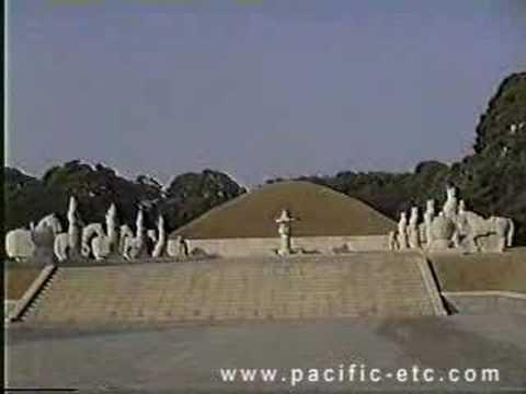 King Tongmyong's tomb in Pyongyang