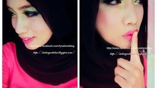 Go Bright!  Color-Block Eye Makeup Look Thumbnail
