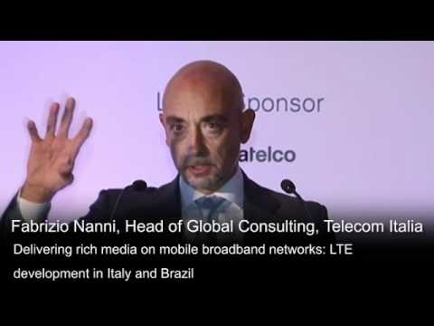 Delivering Rich Media on Mobile Broadband Networks, Fabrizio Nanni from Telecom Italia