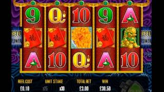 Aristocrat 5 Dragons Online Slot Machine Game Play