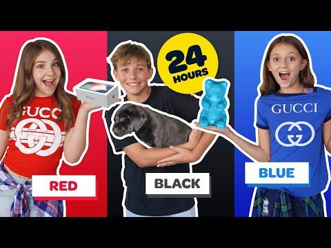 buying-anything-in-one-color-for-24-hours-challenge!-**new-iphone-11**📱🥰-|-piper-rockelle