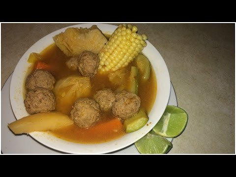 Cooking with Herandi; caldo de Albondigas : Estilo Sinaloa Mexico !