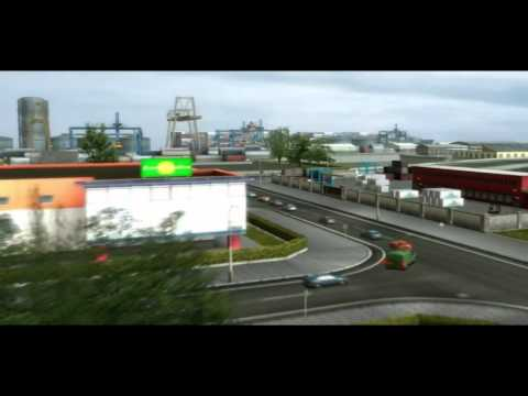 UK Truck Simulator by Excalibur Publishing - Official PC Trailer [HD]