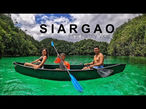 First Family Vlog | SIARGAO 2020