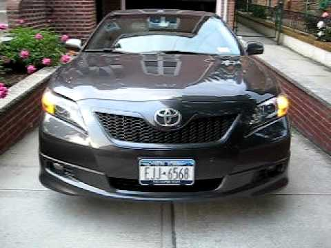 2009 toyota camry se full led conversion interior exterior youtube. Black Bedroom Furniture Sets. Home Design Ideas